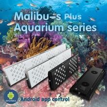 2015 newest APP wifi dimmable wifi App control led reef light aquarium computer
