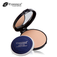 private label cosmetics compact powder pressed powder with mirror
