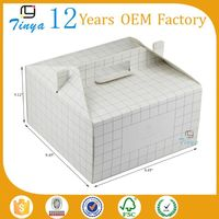 wholesale flat shipping paper cardboard lunch box