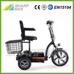 2015 Popular three wheel electric bike, electric bike 3 wheel for adults