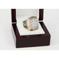 CSR110 NFL 1995 Super Bowl XXX Dallas Cowboys Championship Replica Ring with Wooden Box
