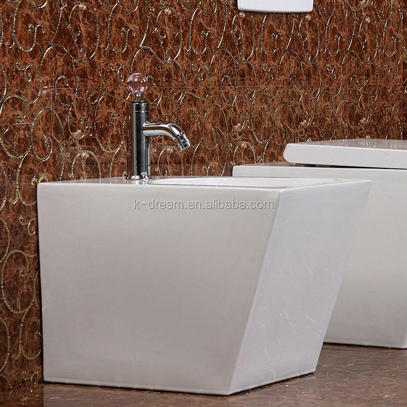 Cheap bathroom sanitary wares ceramic feminine bidet for for Bathroom sanitary accessories