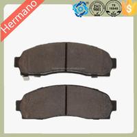 Top Quality Semi-metallic Auto Brake Pads Hi-Q D913 For MAZDA OE 1L2Z2001AA 1L522001AA