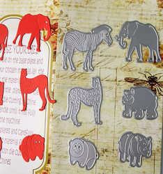 New products animal shaped die cutting for scrapbook