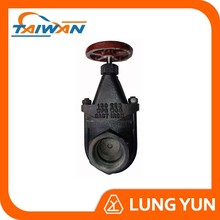 Full Bore Screw End Ductile Iron Rising Stem Gate Valve with Price