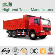 high quality Muliful utility Tipper / dump truck trailer for cargo trailer transportation