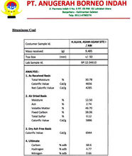 High quality Indonesia coal bituminous