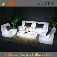 lit furniture.2015 new designed! fashion LED Plastic Furniture , led sofa lighted