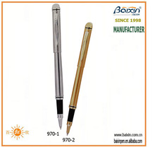 China manufacturer high end cap off metal promotional pens, rollerball/roller tip pen, business/school/office pen, RP-970