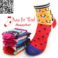 wholesale popular charming silked combed cotton fair cute socks