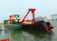 Diesel Power Type Cutter Suction Dredging Machine