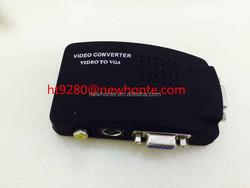 atm parts RCA to VGA / BNC to VGA Converter, cctv camera