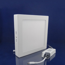 home,office widely used thin led panel light surface mounted