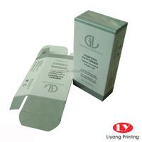 custom logo paper cosmetic packaging box