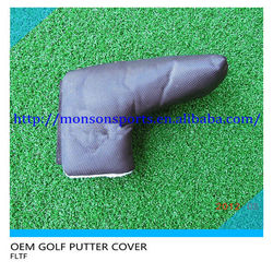 custom made putter golf head cover magnetic golf head cover
