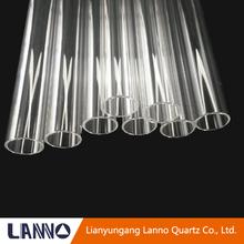 Excelente calidad hotsell transparente en forma de u tubo de cuarzo