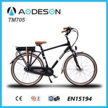 2015 wholesale electric bikes bikes electric TM705 with aluminium alloy frame city e-bike for sale