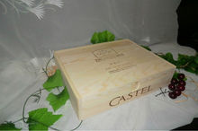 2015 eco-friendly five pcs wine box