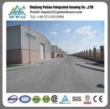 modern design prefabricated steel warehouse building for sale