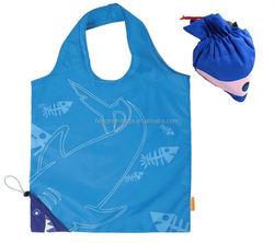 Cute animal fish design foldable shopping bags / tote bags