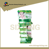 POP Floor Cardboard Display For Skin Care