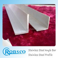 Pickled aisi ss304 stainless steel price per kg angle bar,austenitic 301 stainless steel and import stainless steel price