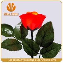 LED Flashing Rose Flower for Valentine's Day