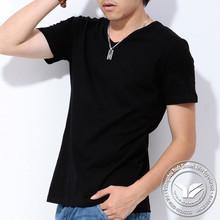240 grams manufacter silk/cotton popular promotional black t shirts for women