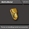 MaYa Metal high quality combination locks handbags briefcases in PVD gold plated MYL70028