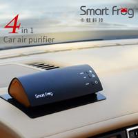 Car freshener with photocatalyst UV sterilize lamp anion generator mini car air freshener for car