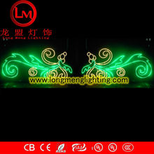 LM-ACSM-022 Flying bird motif holidays across street decoration lights