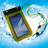 Promotional PVC waterproof phone pouch with string for samsung note