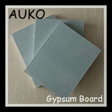 Environmental Protection 7mm Water Resistant Drywall / Gypsum Board with Interior Decoration