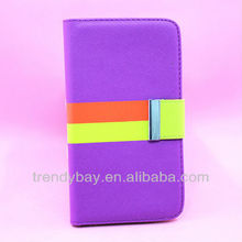 PU leather case for SamSung galaxy note2 for N7100 case