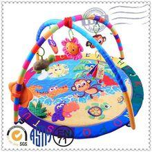 New design indoor lovely kids custom foldable baby play mat