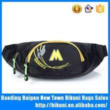 China nylon elastic waist bag kids fanny pack