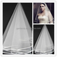 Best Selling Wedding Bridal Veil Fashion Two Layers Wedding Accessories Women Veil (SA1203)