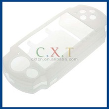 Silicone Case for PSP Game Console (White)