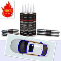 High quality automobile windscreen / car glass pu sealant