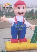 inflatable advertising cartoon model of super mario