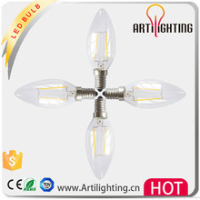 Factory supplied LED plastic rechargeable flash light bulbs