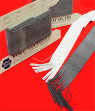 Extruded Rubber Thread Talc Coated