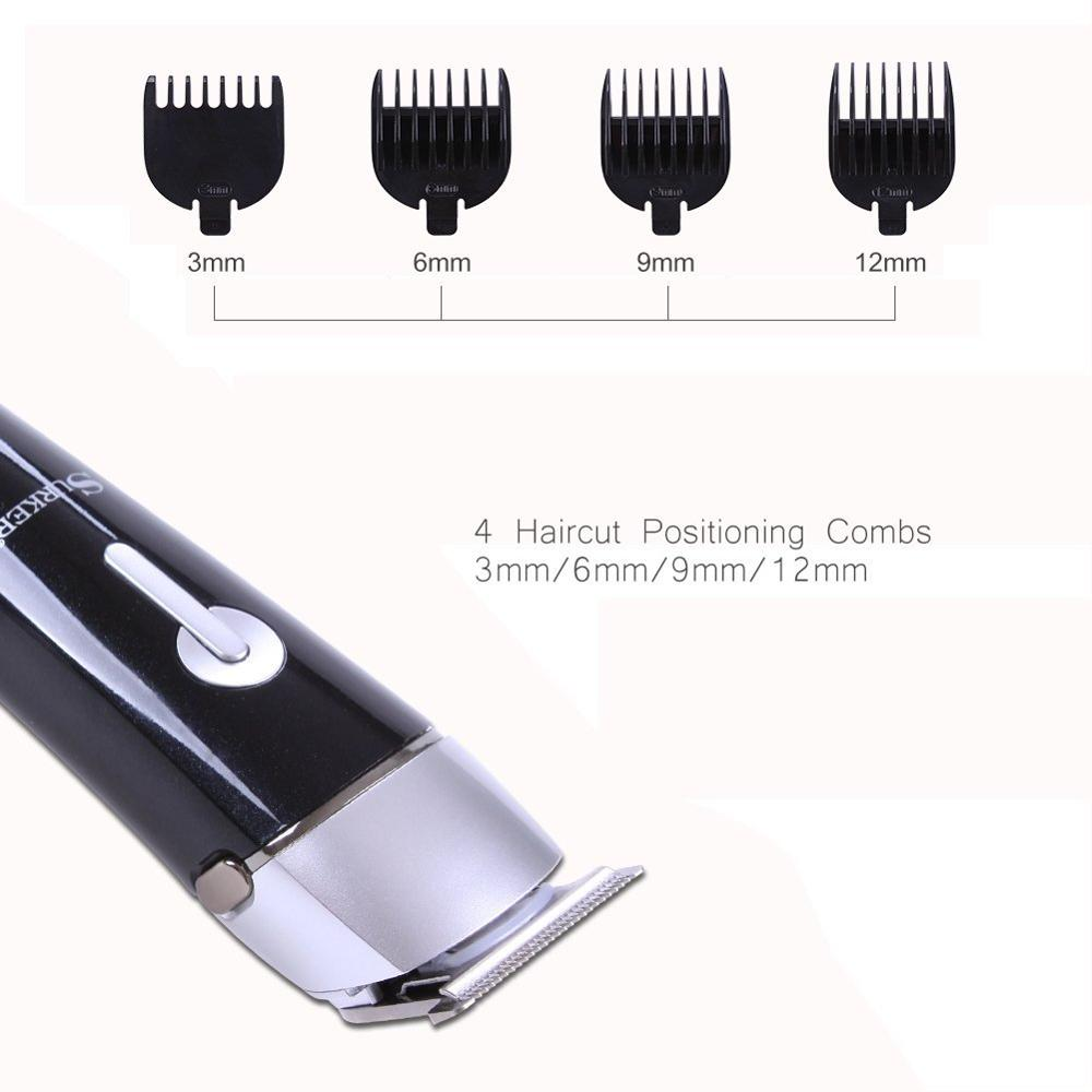 Wholesale haircut barber hair trimmer for man cordless private label lightwei professional metal small electric hair clipper
