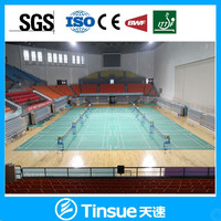 PVC badminton court floor material