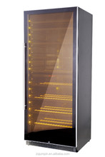 300 bottles Dual-Zone Compressor Wine Cooler, with S.S Frame and Handle