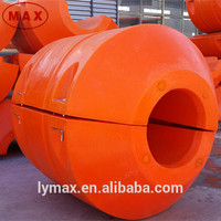 Foam buoy plastic buoy float buoy pontoon used for hdpe dredging pipe