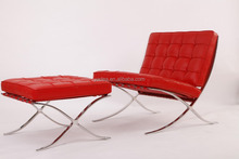 Modern classic furniture for living room Barcelona lounge chair replica