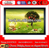 """China Manufacture 100"""" PVC Curved Interactive Frame Projector Screen 3d Silver Screen"""