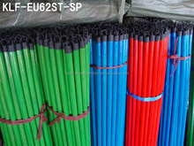 PVC COATED BROOM HANDLE WOOD/PVC COATED WOODEN BROOM STICK/PVC COATED WOODEN MOP HANDLE (VARIOUS STYLE AND SIZE AVAILABLE)