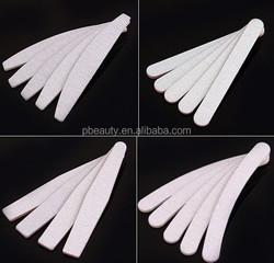 Wholesale higher quality zebra nail File_4-way block nail buffer file_nail tools manicure shiner #NIFL01-19